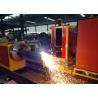 China Customized Cutting Length CNC Pipe plasma Cutting Machine  Loading Capacity 2000kgs wholesale