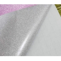 China 80g A4 PP Glitter Self Adhesive Film For DIY Christmas Decoration wholesale