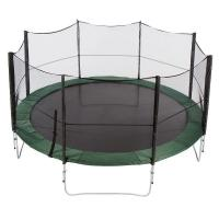 China 12ft commercial outdoor bungee jumping trampoline with Heavy-gauge steel framework on sale