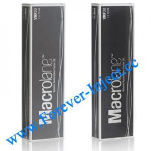China Macrolane VRF20 / VRF30, 10ml  , Macrolane Volume Restoration Factor ,  Belotero , Perlane wholesale