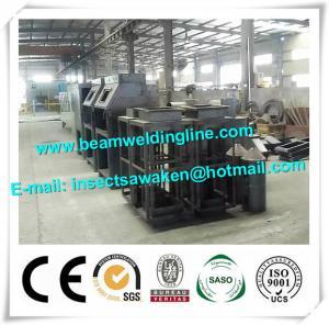 China Roller Type Manual H Beam Shot Blasting Machine Sand Blasting Machine wholesale