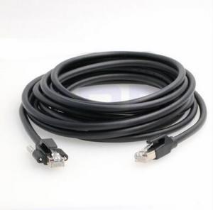 China Black Color PVC RJ45 Flexible Ethernet Cable wholesale
