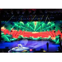 China Hd Led Advertising Display Indoor 3.91mm Aluminium Panel For Stage Rental wholesale