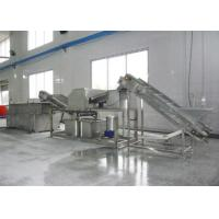 Buy cheap Stainless Steel Industrial Food Canning Equipment For Mushroom Processing from wholesalers