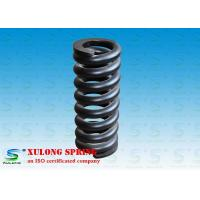 China Customized Alloy Steel Hot Wound Springs , Overload Coil Springs Black Painted wholesale