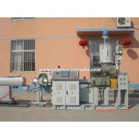 China PPR Glass Tube Pipe Extrusion Machine Plastics Extruder 75mm-160mm on sale
