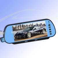 China 7inch Rearview Mirror With Bluetooth, Usb&sd And Mp5 Function wholesale