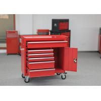China Multi Functional 42 Inch Tool Cabinet Heavy Duty Garage Cabinets With Wheels wholesale