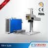 China Mini Type Portable Fiber Laser Marking Machine 10W 20W 30W 50W with FDA wholesale