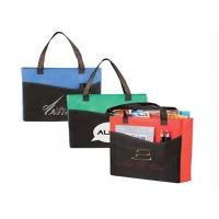 China Convention Recycling Non Woven Gift Bags With Logo Pocket  Foldable Business Branded wholesale