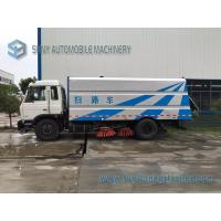 China Highway Road Sweeper Truck DONGFENG 4x2 170hp Euro3 12CBM RHD LHD Tank wholesale