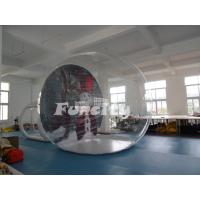 Buy cheap Christmas Theme Snowman 3m PVC Clear Dome Inflatable Bubble Tent For Event from wholesalers