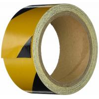 China Abrasive Black And Yellow Safety Tape For Trucks Self Adhesive Anti Slip 50mm Wide wholesale