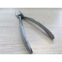 China High Efficiency Dental Extraction Forceps Silver Color Toughest Build For Any Pressure wholesale