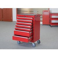 China 27 Inch Color Customized Mechanic Tool Cabinet On Wheels 7 Drawers With EVA wholesale