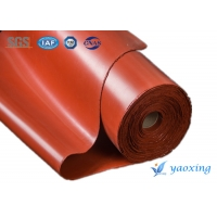 Buy cheap 920mm Fireproof Silicone Coated Fiberglass Fabric 1500g/m2 from wholesalers