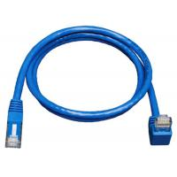 China Down Angle Lan Network Cable Gigabit Molded Patch Cord For Print Server wholesale