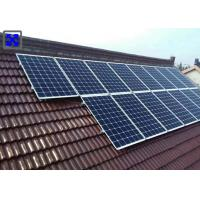 China Flexible Aluminum Solar Mounting System For Tile Roof Household System wholesale