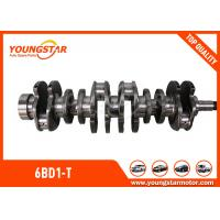 China High Performance Crankshafts For ISUZU 6BD1-T / 6BD1 Engine 1123104370 wholesale