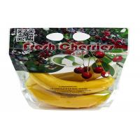 China Anti - Fog Fresh Fruit Bags Clear Plastic OPP/CPP Protection Packaging With Zipper wholesale