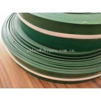 China Non - Skid 1mm PVC Conveyor Belt Industrial Conveyor Belts With Skirt Sidewall on sale