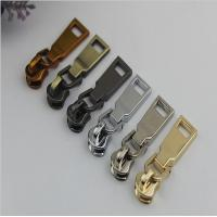China 2018 DIY new style custom design zinc alloy 6 color personalized zipper puller with slider 5# wholesale