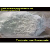 China Cas 5721-91-5 Raw Testosterone Powder / Testosterone Decanoate Powder For Weight Lose wholesale