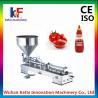 China Hot-Sales Single head Semi-automatic Pneumatic hand cream filling machine wholesale