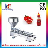 China small manual paste cream lotion filling machine for sale wholesale