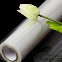 China Glossy 40um Bopp Cellophane Gift Wrapping Paper For Flower wholesale