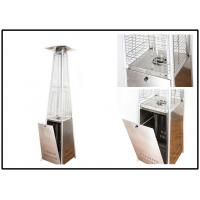 China Anti Tip Portable Square Patio Heater With Wheels Propane Butane Fuel Type wholesale