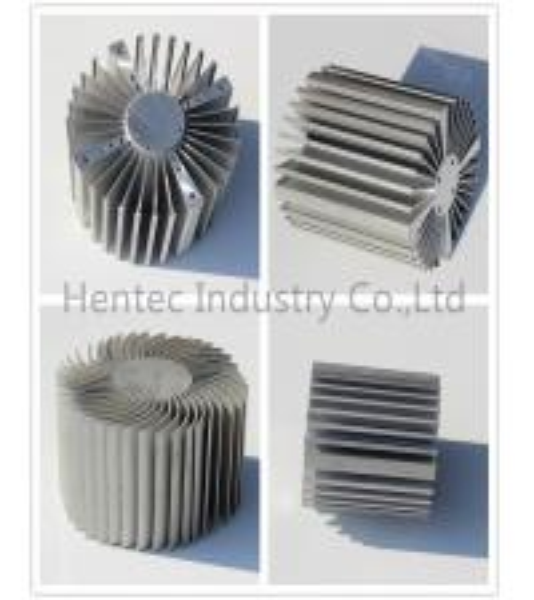 Custom High Power LED Aluminum Heat Sink 6063 , 6061 , 6060