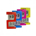 "China ""S"" Shape Digital Clock wholesale"