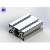 China European Standard Anodized T Slot Aluminum Extrusion 40 * 80 For Industrial wholesale
