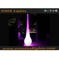 Outdoor Waterproof LED Pillar Lights Remote Control LED Landscape Illuminated Manufactures