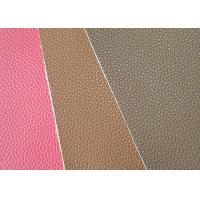 China Mildewproof  PU Leather Fabric CLB309 Model Customized Color 137cm Wide wholesale