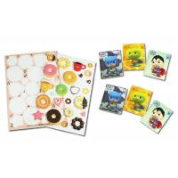 China 3 Mm Thickness 3D Puffy Stickers , Cartoon Shapes Cute Puffy Stickers wholesale