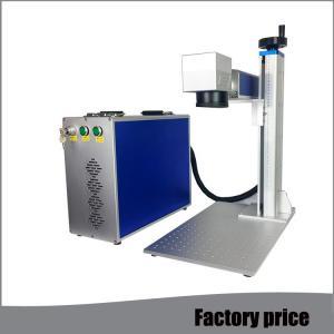 China Metal Fiber Mini Laser Marking Machine EZCAD Software Low Power Consumption wholesale