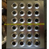 China Perforated metal stair treads/perforated wire mesh walkway wholesale