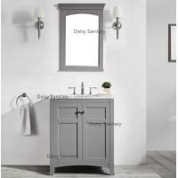 China Rust - Prevention Marble Bathroom Vanity , 30mm Thickness Marble Bath Vanity wholesale
