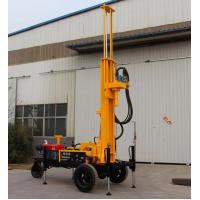 China SRXY-130 CORE WATER WELL DRILLING RIG water well drilling trailer shallow well drilling equipment mud rotary drill rig on sale