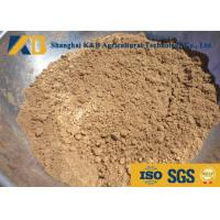 China Pure Fish Meal Powder / Fish Feed Additives Promote Animal Health And Growth on sale