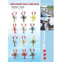 China soft plastic lures with hooks wholesale