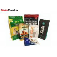 China Square Bottom Food Grade Foil Stand Up Pouches Plastic Bag Custom Printing wholesale