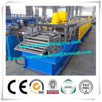 China Automatic Column Steel Silo Forming Machine For Highway Guardrail wholesale