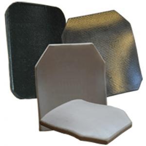 China lightweight PE material Ceramic Ballistic bullet proof plate inserts armor vest on sale