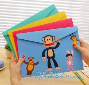 China wholesale paper tinted gift mailing envelope for celebration,design & printing Vintage Brown Kraft Paper Packaging Envel wholesale