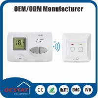 China Wireless Digital Thermostat 868MHZ Radio Frequency Wireless Non - Programmable Multistage Controller wholesale