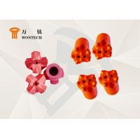 China Construction Drilling Ballistic Button Bits With Forging Processing Multi Functional wholesale