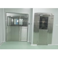 China 2 Side Blowing PLC Control Stainless Steel 304 Air Shower Room wholesale
